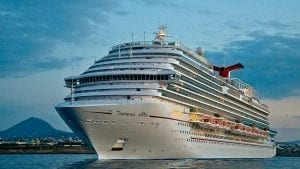 Image of a Carnival Cruise Ship