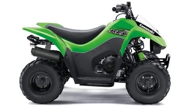 Image of the Recalled Kawasaki ATV