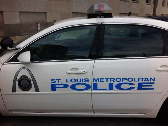 Image of a St. Louis Police Car