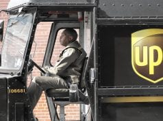 Image of a UPS Driver