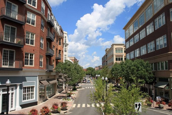 Image of downtown West Hartford, Connecticut