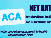 Image of an ACA Infographic