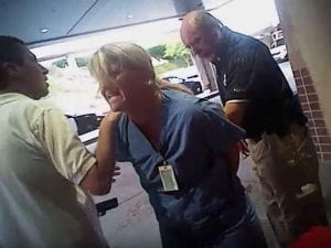 Image of Jeff Payne Arresting Nurse Alex Wubbels