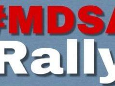 MDSA Rally; image courtesy of www.ASHESnonprofit.com.