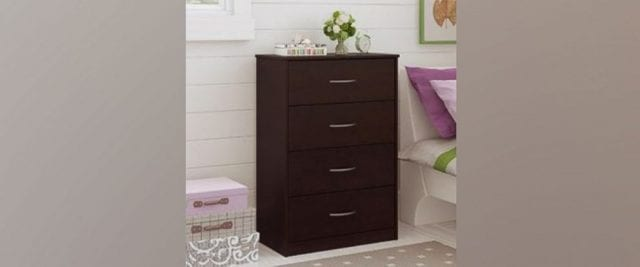 Image of the Recalled Ameriwood Home Chest of Drawers