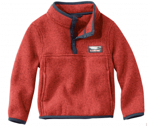 Image of the Recalled L.L. Bean Toddler Pullover