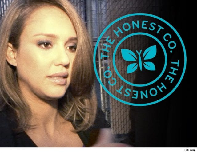 Image of The Honest Co. Logo and Jessica Alba