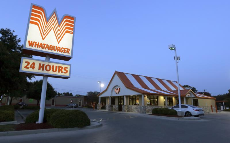 Image of a Whataburger Restaurant