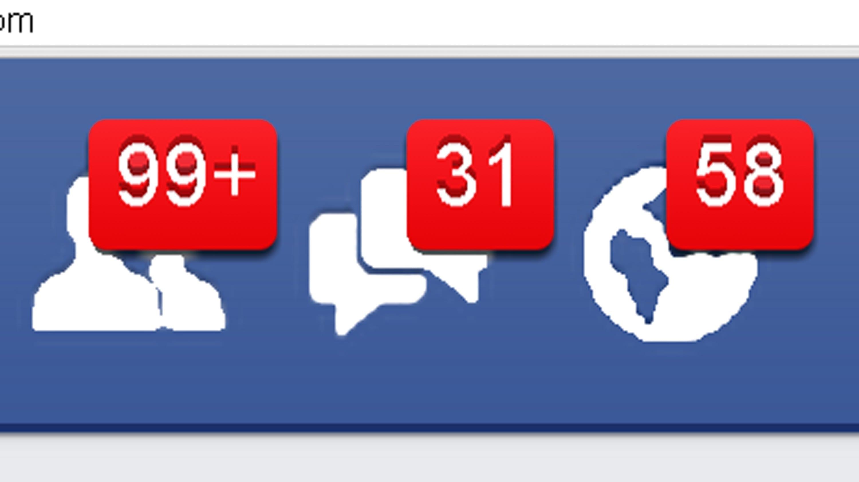 Screenshot of Facebook friend indicator; image courtesy of www.youtube.com.