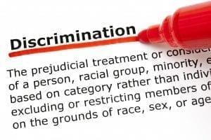 Image of a Discrimination Definition
