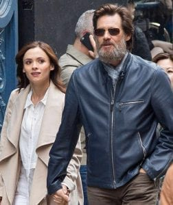 Image of Jim Carrey and Cathriona White