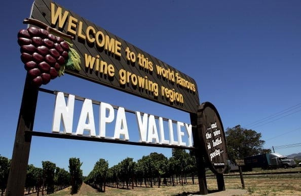 Image of a Napa Valley Sign