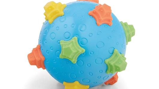Image of the Recalled Bruin Infant Wiggle Ball