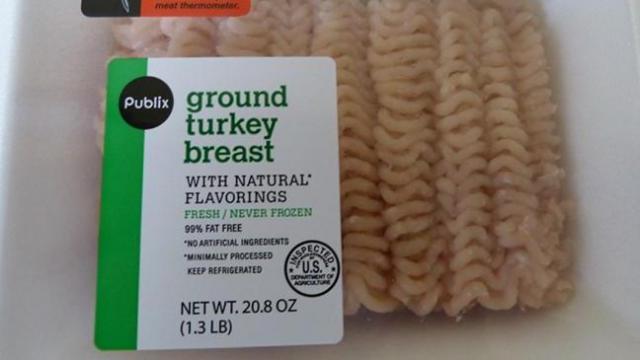 Image of the Recalled Ground Turkey