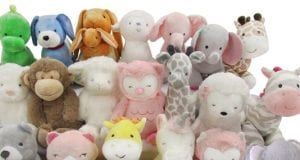 Image of the Recalled Kid's Preferred Toy Company Plush Toys