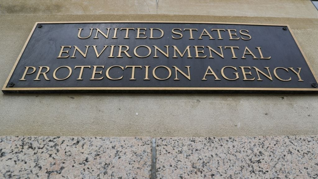 Image of a United States EPA Marker