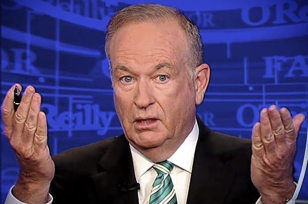 Bill O'Reilly; image courtesy www.thehollywoodunlocked.com.