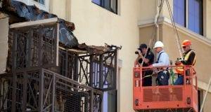 Image of the Berkeley Balcony Collapse