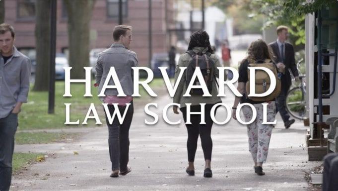 Image courtesy of Harvard Law School via www.youtube.com.