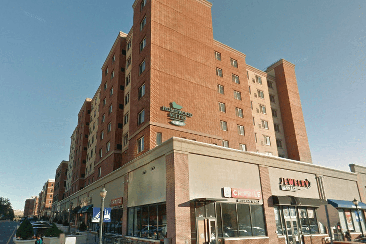Image of Hilton Homewood Suites in Edgewater, New Jersey
