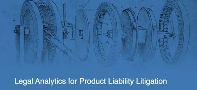 Lex Machina's Federal Product Liability Litigation Module for its award-winning Legal Analytics Platform. Image courtesy www.lexmachina.com.
