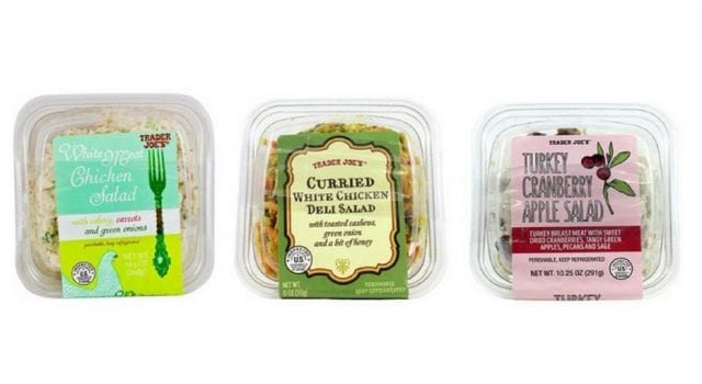 Image of the Recalled Trader Joe's Salads