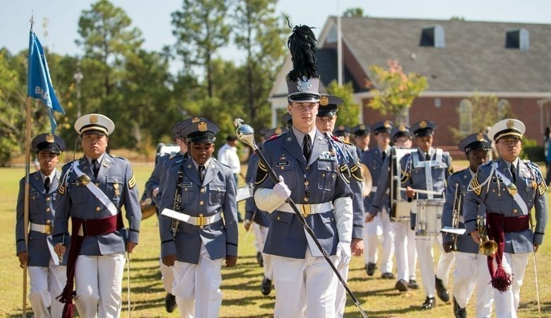 Image of Students at Camden Military Academy