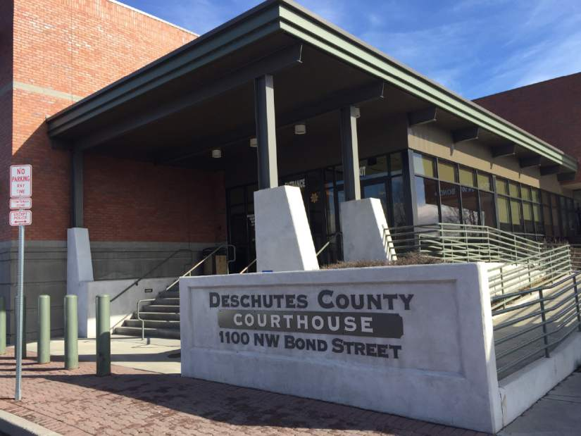 Image of The Deschutes County Courthouse.
