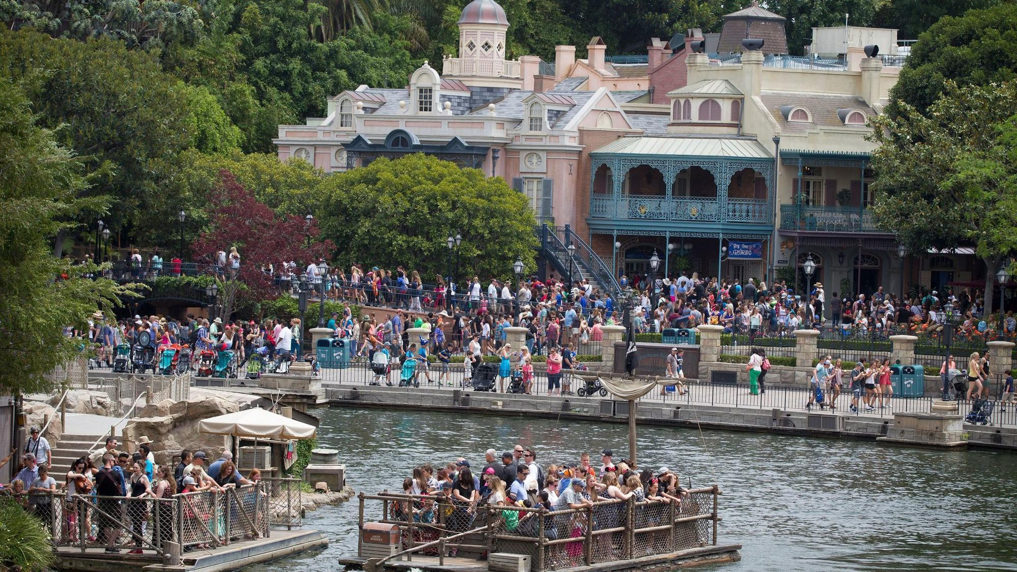 Image of Tom Sawyer Island at Disneyland