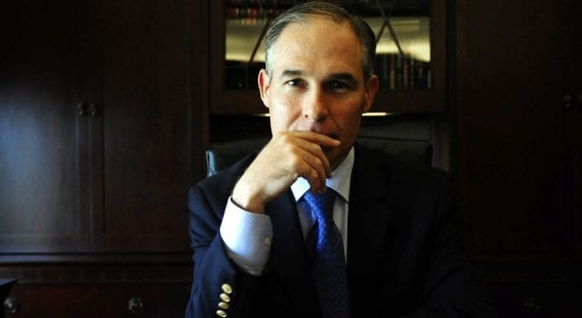 Scott Pruitt Just Doesn't Know When To Stop