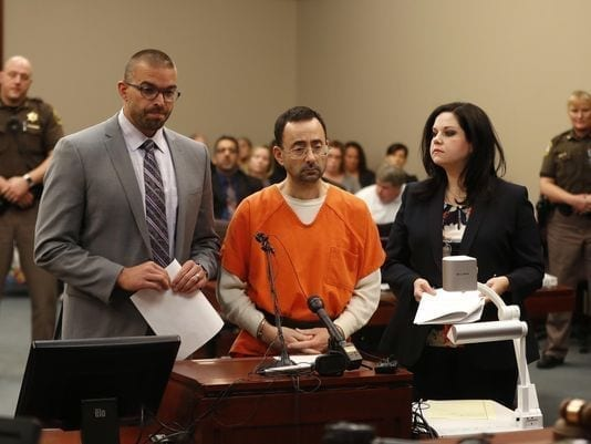'Monster' Sports Doc Larry Nassar Facing Long Sentence For Child Porn