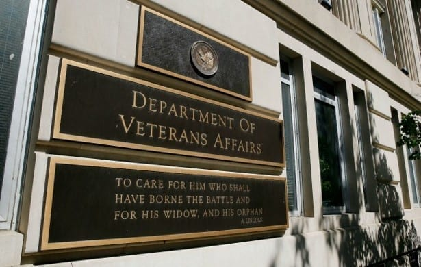 Image of a Department of Veterans Affairs building