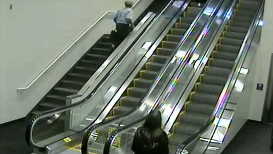 Image of the Escalator that Kekona Fell Down
