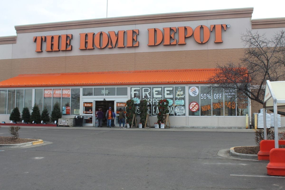 Image of the Nampa Home Depot Store