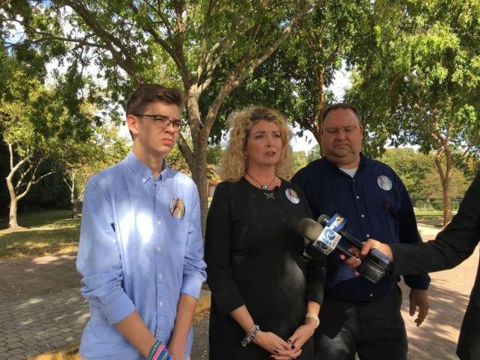 Image of Ryan, Tammy, and Scott Duffy