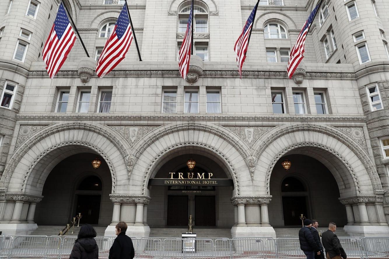Image of the Trump International Hotel in Washington