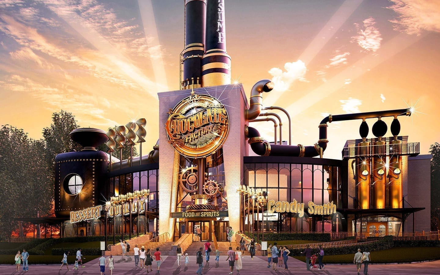 Image of the Universal Chocolate Emporium