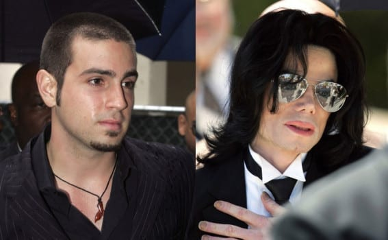 Image of Wade Robson, left, and Michael Jackson