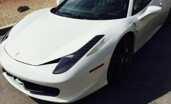 Ferrari Stolen, Damaged in Joy Ride - Driver Begs for Money