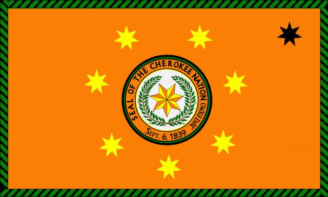 Image of the Cherokee Nation Flag
