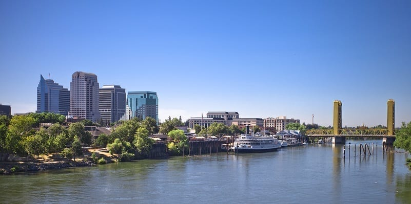 Image of the City of Sacramento