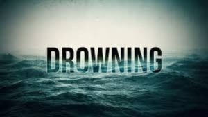 Image of a Drowning Graphic