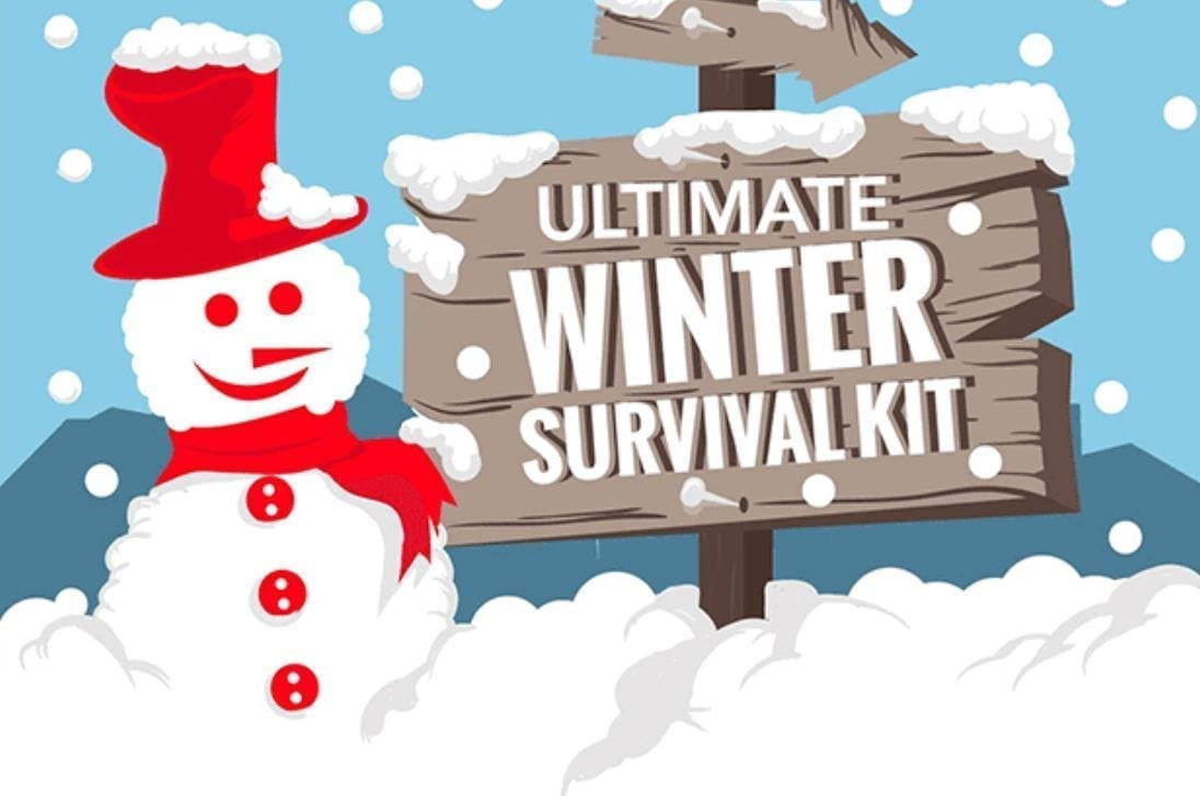 Ultimate Winter Survival Kit; image courtesy www.mikesgearreview.com.