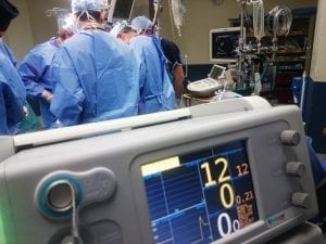 Image of a Medical Team Performing Surgery