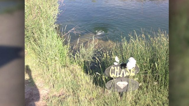 Image of Otter Creek Reservoir, Chase Memorial