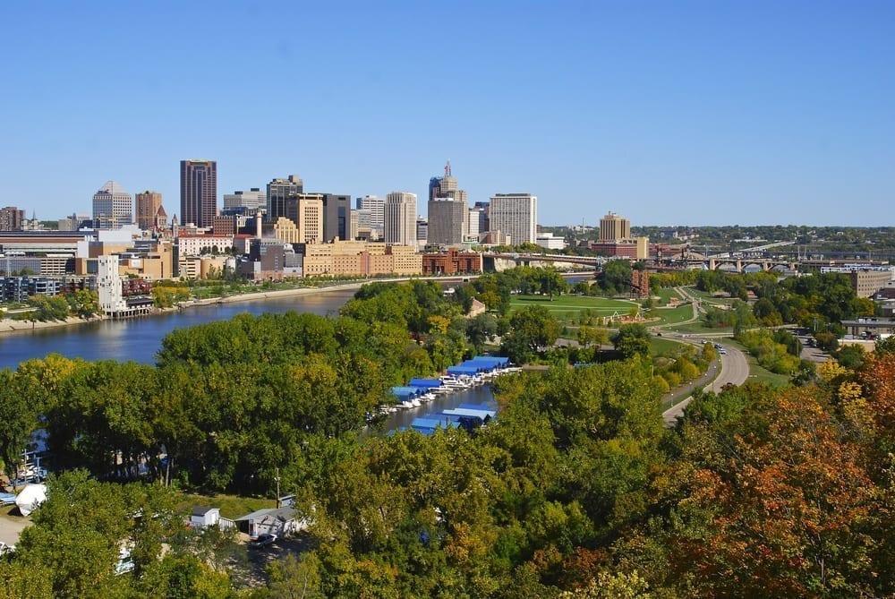 Image of Downtown Saint Paul, MN