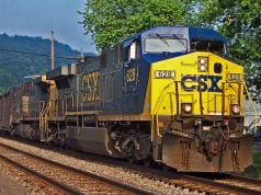 Image of a CSX Freight Train