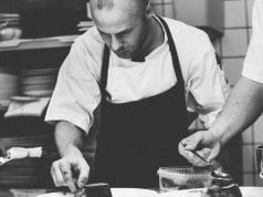 Image of a Chef Preparing Food