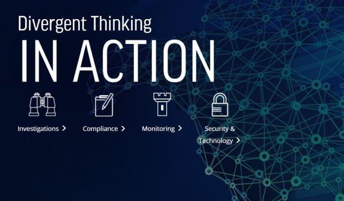 Divergent thinking in action; image courtesy of Guidepost Solutions.