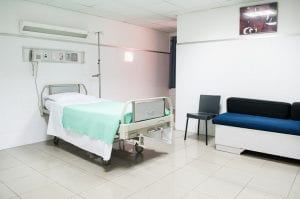 Image of a hospital room